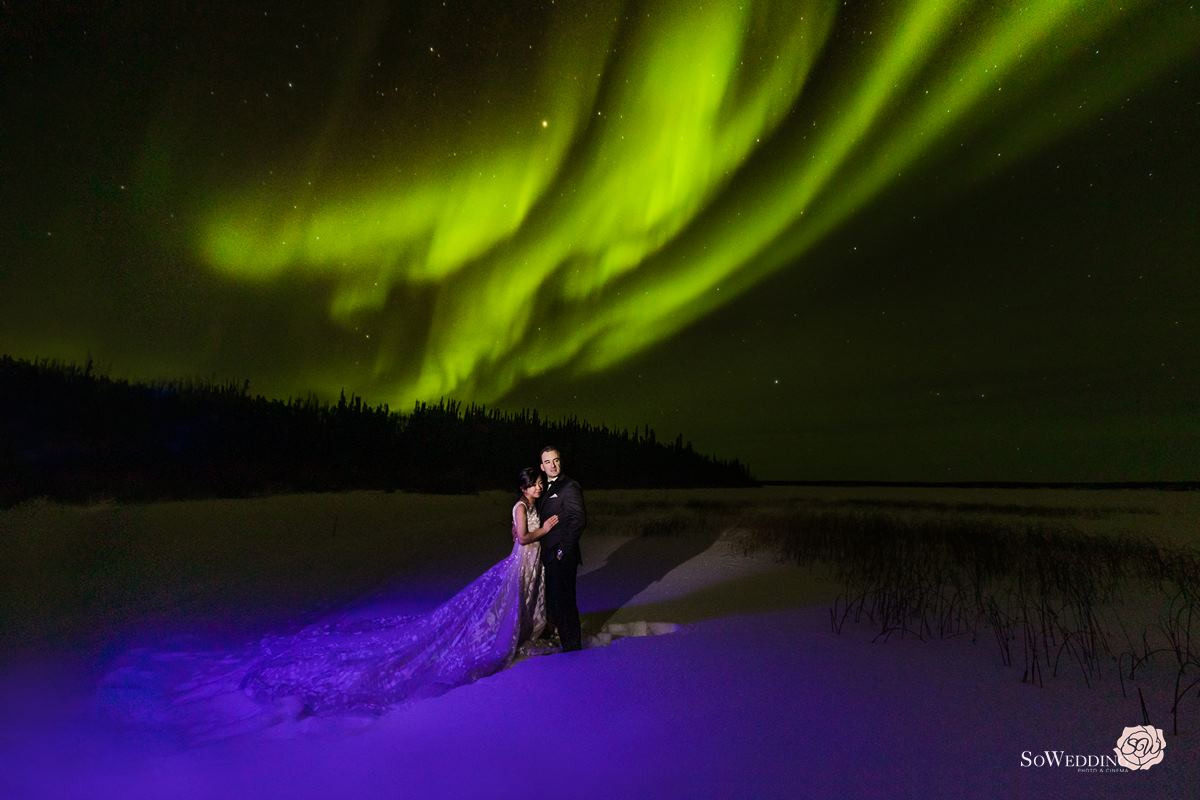 Yellowknife PreWedding Photography