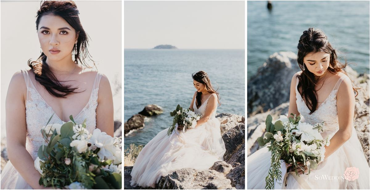 Lighthouse Park Elopement Photography