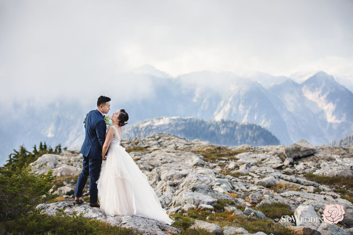 Helicopter Elopement Photography