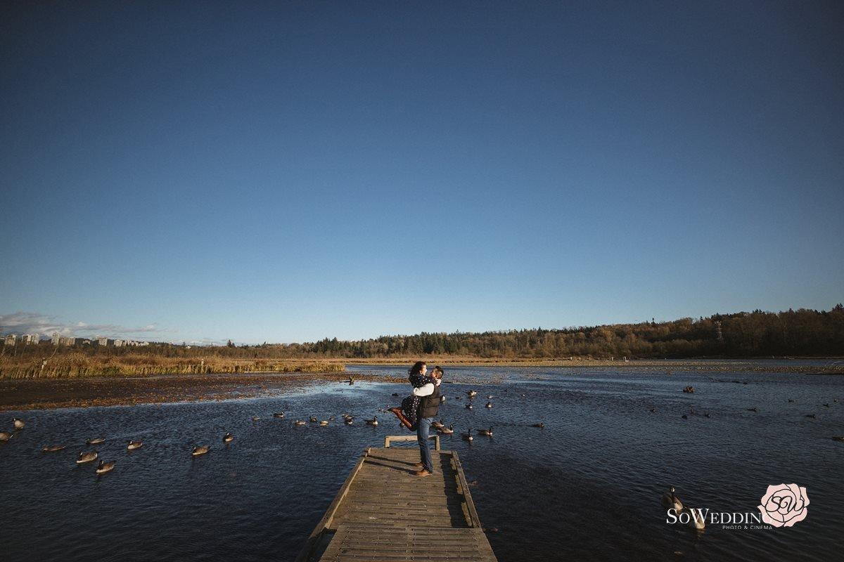 Burnaby Lake Engagement Photography