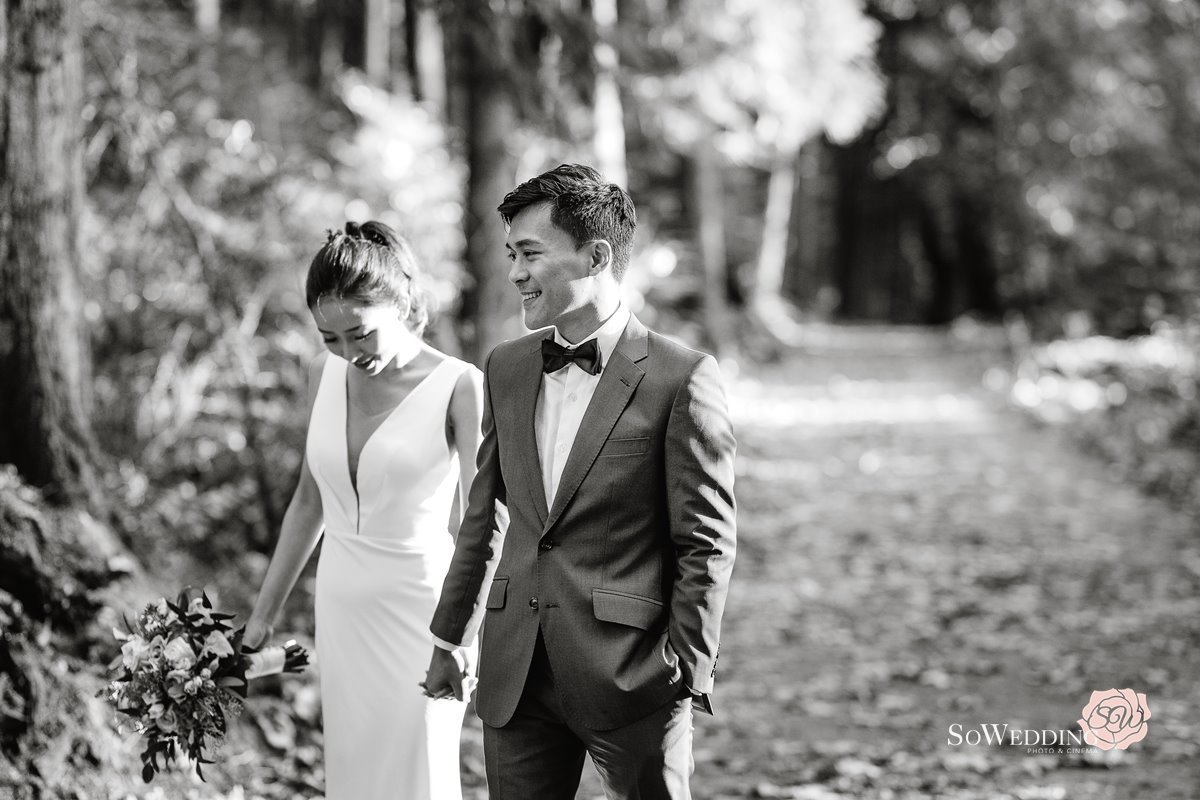 Stanley Park Fall PreWedding Photography