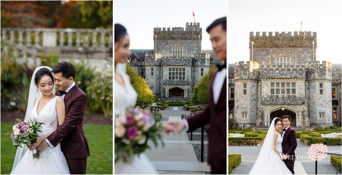 Hatley Castle Prewedding Photography