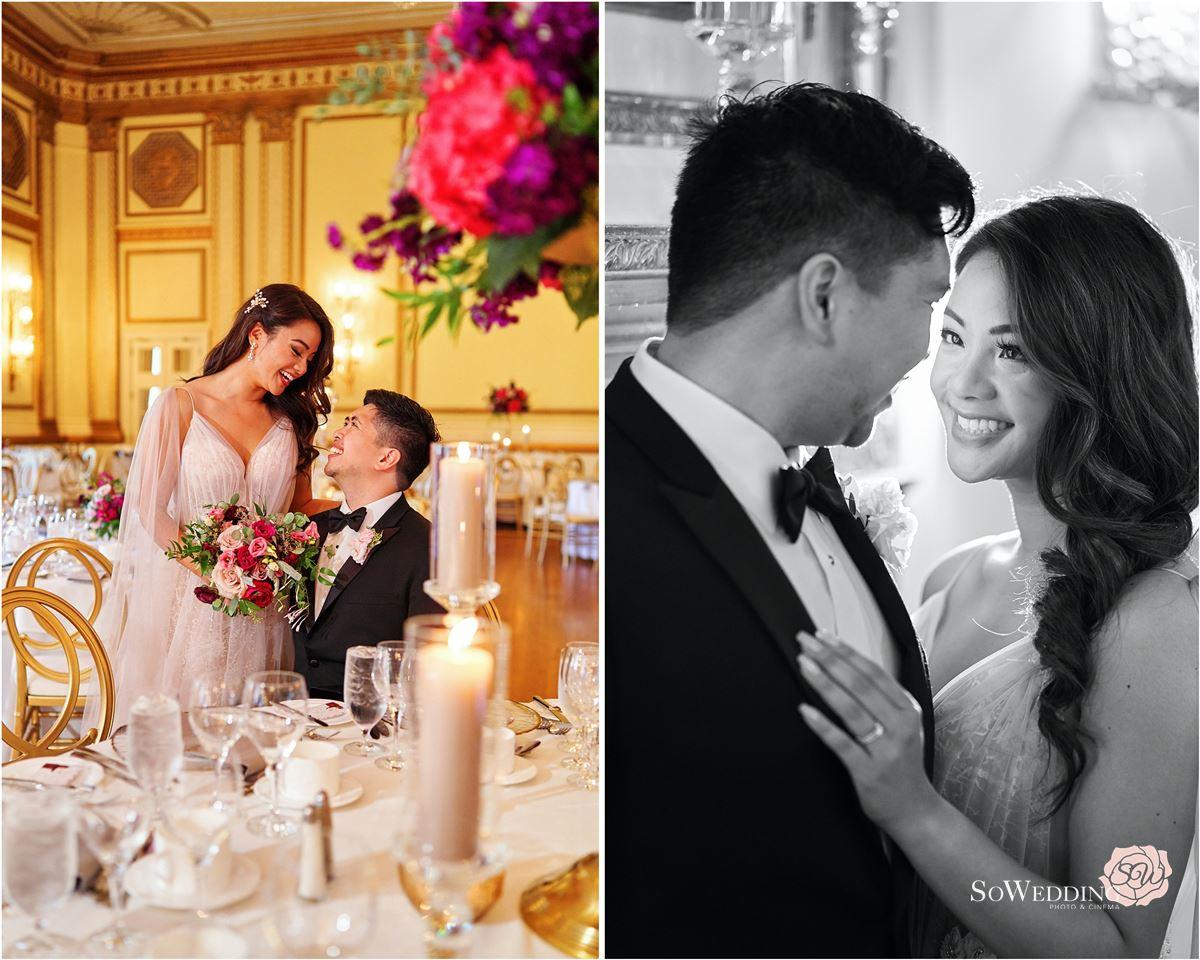 Fairmont Hotel Vancouver Wedding